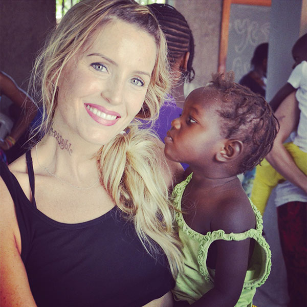 Lizzie Badger travels back and forth between her home in Utah and her home in Haiti, where she serves hundreds of orphans.