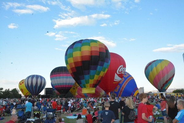The Freedom Festival's annual Balloon Fest will start at 6:30 a.m. on Thursday, Friday and Saturday morning. (Photo by Rebecca Lane)