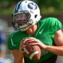 Taysom Hill returns for his senior year for the Cougars after suffering a gruesome lower leg injury. Photo UtahValley360.com