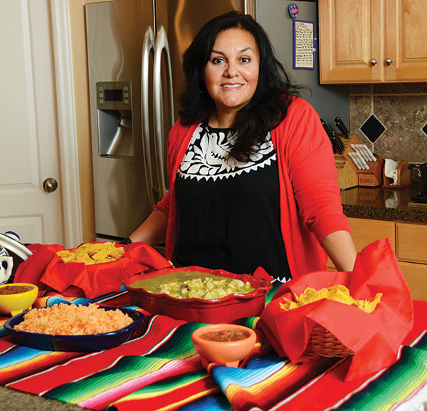 Teresa Villalobos Taylor makes a mean chile verde and says the best Mexican restaurant in town (outside her kitchen) is Mi Ranchito in American Fork. (Photo by Dave Blackhurst)