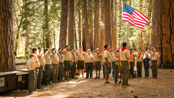 With the decision to remove the ban on gay Scout leaders, the LDS Church is re-evaluating its relationship with the Boy Scouts of America. (Photo courtesy LDS Church)