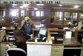 Payson police are looking for this man who robbed the Central Bank in Payson on Aug. 14. (Photo courtesy Payson Police Department)
