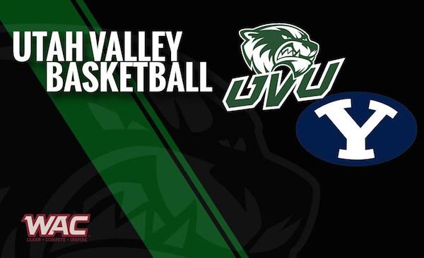 UVU vs BYU basketball