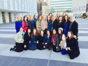 Big Ocean Women is putting together a delegation of 50 pro-family, pro-motherhood women to attend the World Congress of Families in October. Earlier this year, 25 women with Big Ocean attended the UN Commission on the Status of Women in New York.