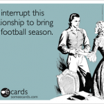 7 suggestions for surviving your spouse's football addiction
