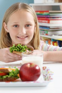 Get ideas for healthy school lunches here. (Stock Photo)