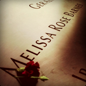 Each of the deceased victims' names who died in the Twin Towers terrorist attack are written on the 9/11 Memorial in New York City. (Photo by Rebecca Lane)
