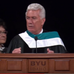 VIDEO: Hilarious President Uchtdorf moment from Clark Gilbert's inaguration at BYU-Idaho