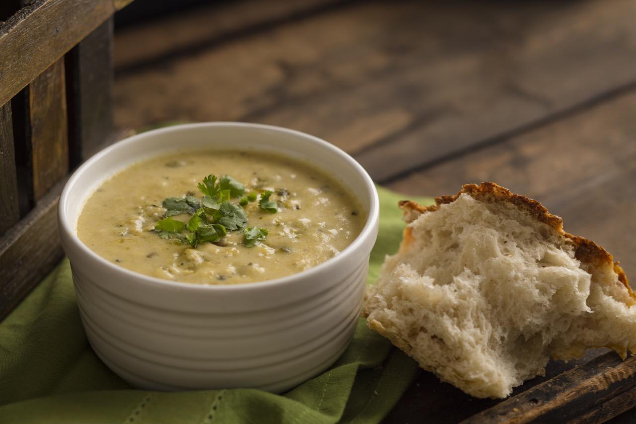 White Cheddar & Poblano Soup
