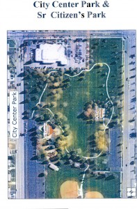 The all-accessible park will be at City Center Park in Orem. (Image courtesy Orem city)