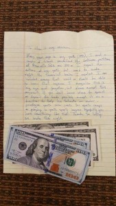 Orem received a letter containing $500 and an apology for vandalizing a park 25 years ago. (Photo courtesy Orem city)