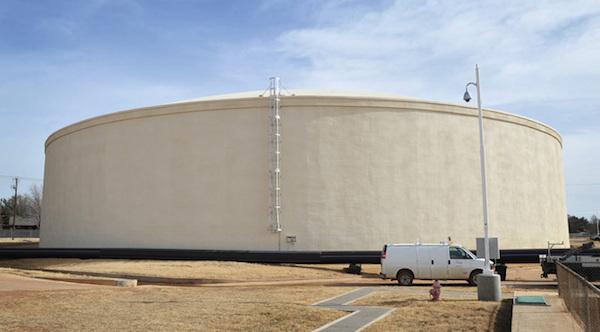 Water tank (Photo courtesy Orem)
