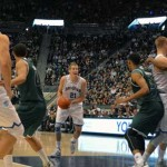 Rebounding projects Cougars to easy win over Wolverines