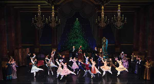Out of the hundreds of young dancers from all over Utah who auditioned for The Nutcracker, 28 from Utah County's Ballet West Academy made the cut for this year's performance. (Photo courtesy Luke Isley)