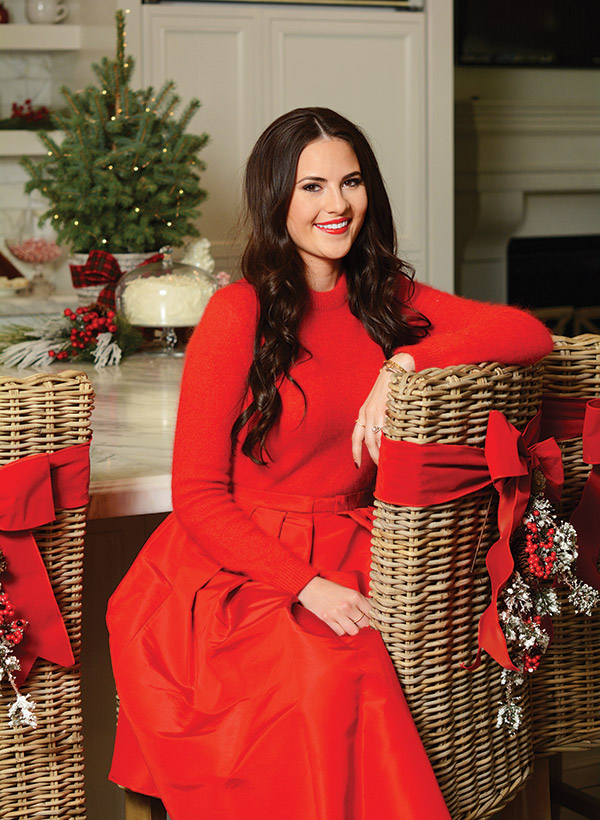 Christmas In Fashion With Instafamous Rachel Parcell