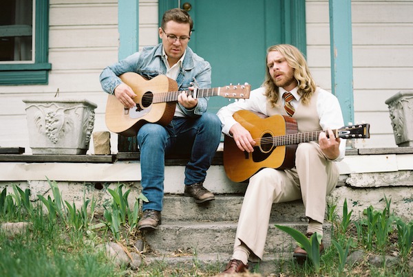 Midas Whale, a folk duo with Jon Peter Lewis and Ryan Hayes, will perform two shows at the SCERA. (Photo courtesy SCERA)
