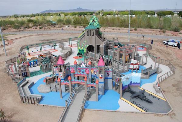 Leathers & Associates, a designer hired by Orem city, designed this potential all-abilities playground. (Photo courtesy Orem city)