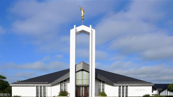 Freiberg Germany Temple. (Photo courtesy Mormon Newsroom.)