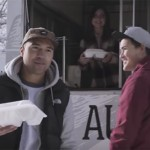 Local musician gives food to homeless in R&B Christmas charity video