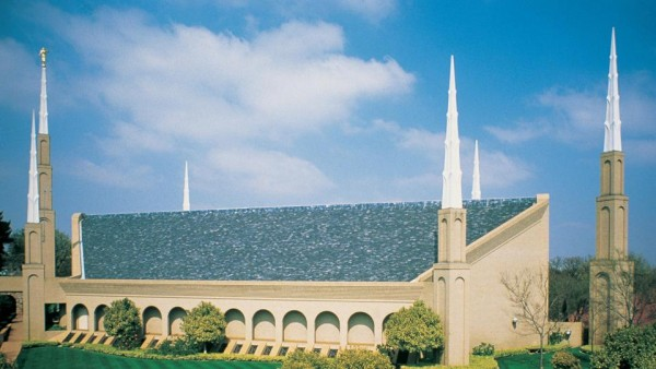 Johannesburg South Africa Temple. (Photo courtesy Mormon Newsroom.)