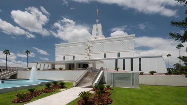 Mexico City Temple. (Photo courtesy Mormon Newsroom.)