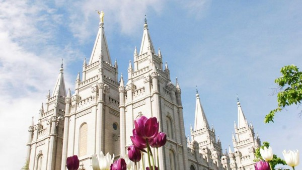 Salt Lake Temple. (Photo courtesy Mormon Newsroom.)