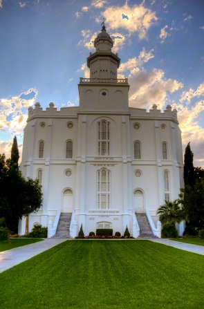 St. George Utah Temple. (Image Courtesy LDS.org Media Library.)