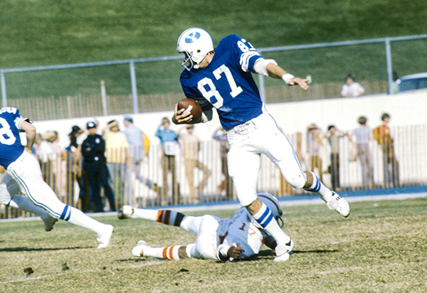 Brian Billicks played for the BYU football team between 1974-76.