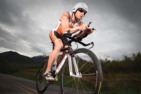 James Lawrence completed 50 iron-distance triathlons in all 50 states over 50 consecutive days.