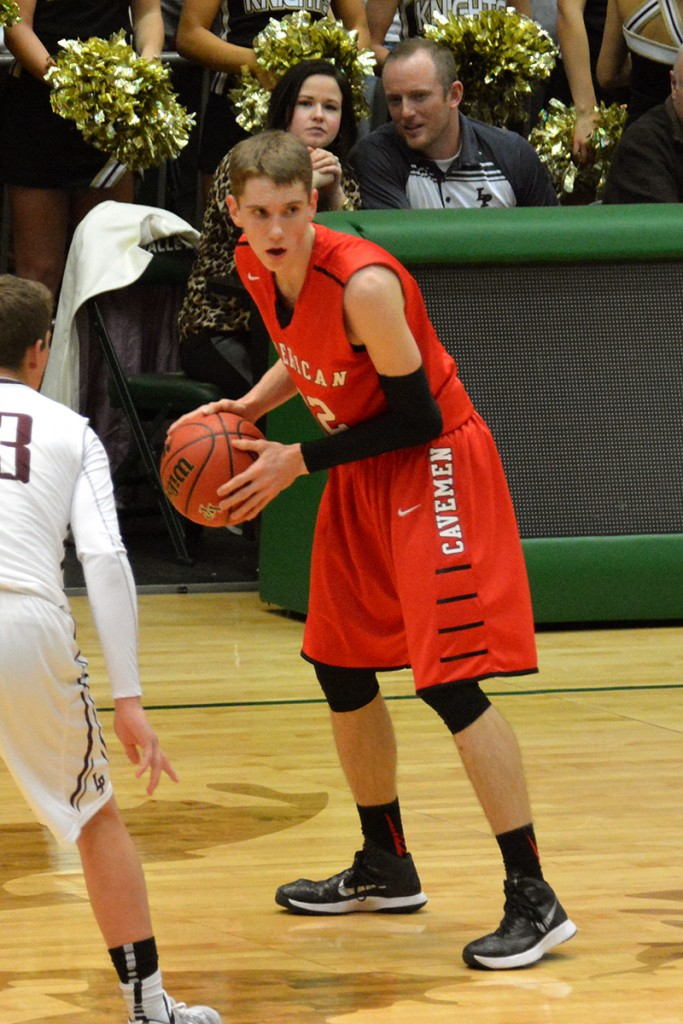 American Fork's Spencer Johnson, who's committed to play for Weber State, scored 18 points for American Fork.