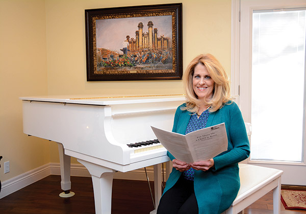 Paula Williams always considered herself a second alto, having grown up singing along to Karen Carpenter. But an a cappella audition revealed that she was a soprano, and she has been singing the high notes ever since. Paula is a soprano in the Mormon Tabernacle Choir. (Photo by Alisha Gallagher)