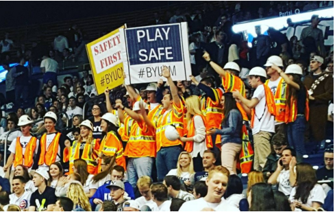 #safetyfirst BYU basketball