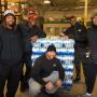 Ziggy Ansah donated 94,000 bottles of water to Flint, Michigan. (Photo courtesy @ttwentyman)
