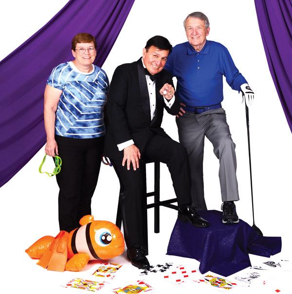 Sheila Morrison, Alex Murillo and Guy G. Roche, Sr.