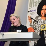 Jenn Blosil, Bri Ray and Shannon Abbott perform at UV Mag's Fab 40 party