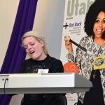 Jenn Blosil, Bri Ray and Shannon Abbott perform at UV Mag's Fab 40 party