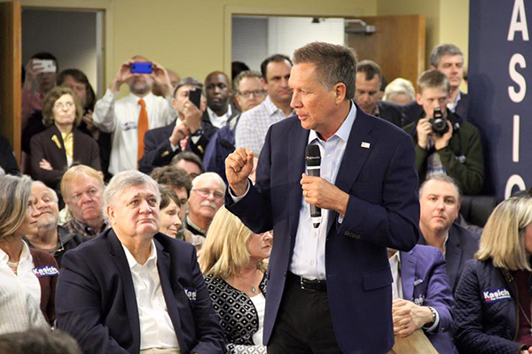 Ohio Gov. John Kasich speaks at an event earlier this year. (Photo courtesy John Kasich's Facebook)