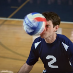 Round 2: Studio C's Scott Sterling gets faced in volleyball debut