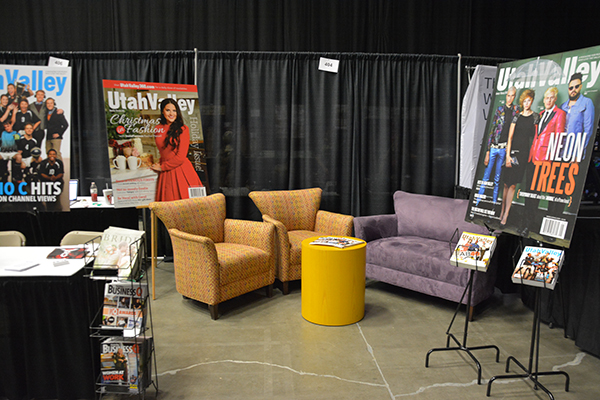 UV Mag booth