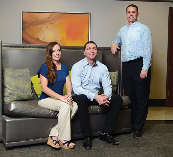 Shelaine Maxfield, Derek Maxfield and Chris Yadon started the Younique Foundation to empower the 25 percent of the population affected by childhood sexual abuse.