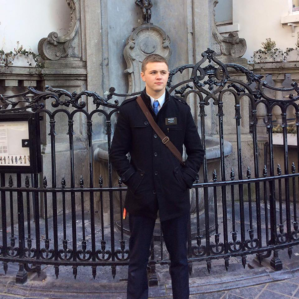 Elder Mason Wells is one of three missionaries who were seriously injured in the explosion at the Brussels airport Tuesday morning. He is serving an LDS mission in Paris, France. (Photo courtesy Kymberly Snowden Wells)
