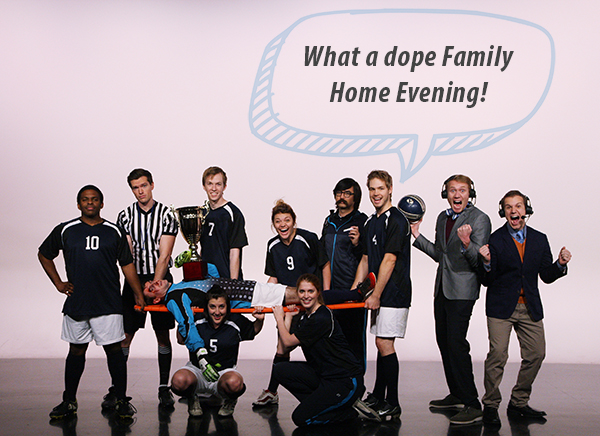 "The first place winner of UVMagGab had the Studio C crew saying, ""What a dope Family Home Evening!"" (Photo by Utah Valley Magazine)"