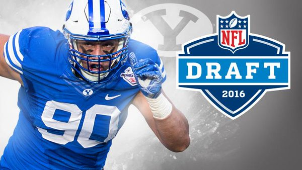 Bronson Kaufusi was the 70th overall pick in the 2016 NFL Draft.