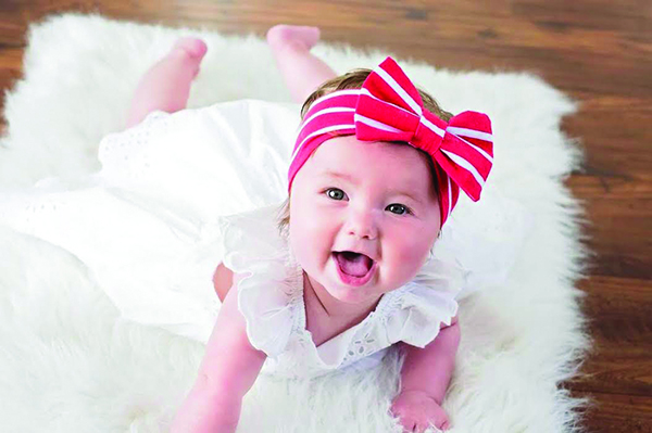 ELLIE KAY SHENK Parents: Brenley Shenk & Adam Duke City: Spanish Fork Born: September 3, 2015