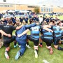 The BYU rugby team gathers in a circle following their loss to Cal State in the 2016 Varsity Cup Championship. (Photo by Todd F. Wakefield/BYU Photo)