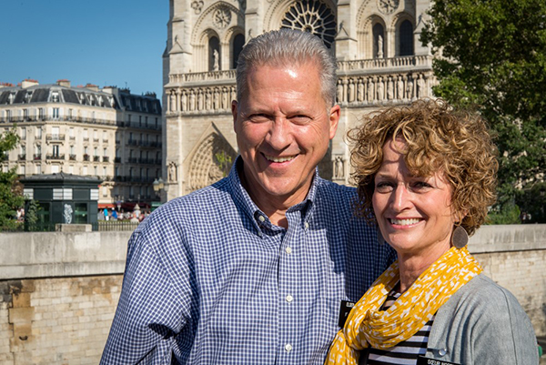 Elder Richard Norby and his wife Pam were serving as Mormon missionaries in Brussels, Belgium. Richard Norby was injured in the Brussels Airport bombing when he was dropping off a sister missionary at the airport. (Photo courtesy LDS Church)