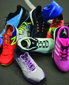 "Runner's Tip! Our top three reader- selected running stores — Runner's Corner, Endurance Athletics and UtahRUN — agree that runners need to switch their shoes every 300-500 miles. Their other ""go-to"" running items include running socks, Simple Hydration bottles, and anti-chafing products for a smoother up-hill-both-ways training lifestyle."