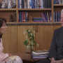 BYU President Kevin J Worthen, right, talks to BYU Spokesperson Carri Jenkins in a video addressing BYU's Honor Code Office and the Title lV. BYU has assembled a committee to find a safer way for students to report sexual assaults.