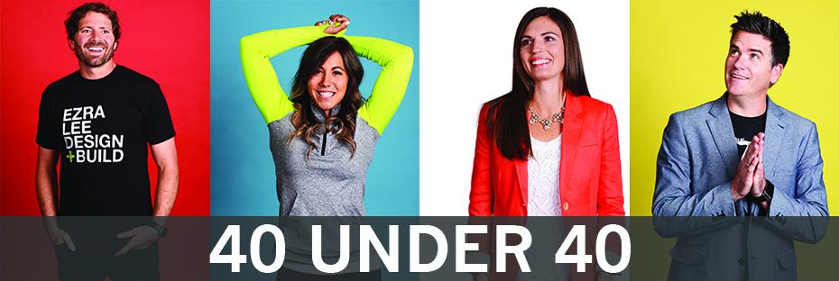 40 Under 40 feature