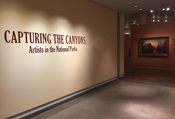 "The BYU Museum of Art has a new exhibit, ""Capturing the Canyons: Artists in the National Parks,"" to celebrate 100 years of national parks. (Photo courtesy BYU MOA)"